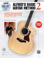 Alfred's Basic Guitar Method 2 -  Book, DVD & Online Audio, Video & Software