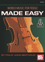 World Music for Fiddle Made Easy - Book & Online Audio