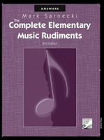 The Complete Elementary Music Rudiments Answer Book, Second Edition