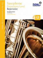 Saxophone Preparatory Level Repertoire, Saxophone Series, 2014 Edition
