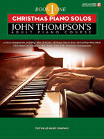 John Thompson's Adult Piano Course - Christmas Piano Solos Book 1