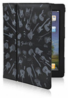 Fender iPad Protective Black Guitar Army Folio