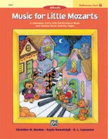Music for Little Mozarts: Halloween Fun! Book 1