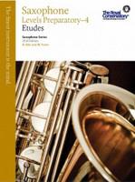 Saxophone Levels Preparatory-4 Etudes WSS1