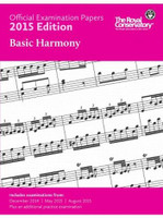 Official Examination Papers Basic Harmony 2015 Edition EX1505