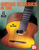 Guitar Classics in Tab Book + Online Audio