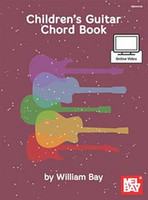 Children's Guitar Chord Book  - Book + Online Video