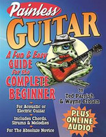 Painless Guitar - Book + Online Audio
