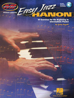 Easy Jazz Hanon - 50 Exercises for the Beginning to Intermediate Pianist