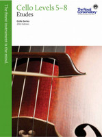 Cello Etudes Levels 5 - 8 - 2013 Edition