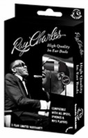Ray Charles – In-Ear Buds Window Box