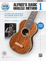 Alfred's Basic Ukulele Method 1 - Book & Online Audio