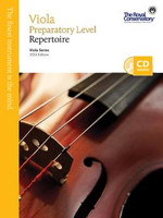 Viola Preparatory Level Repertoire, 2013 Edition  VA0