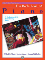 Alfred's Basic Piano Library: Fun Book 1A