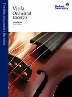 Viola Orchestral Excerpts, Viola Series, 2013 Edition VAE1