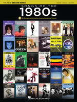 Songs of the 1980s - The New Decade Series with Online Play-Along Backing Tracks