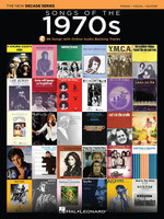 Songs of the 1970s - The New Decade Series with Online Play-Along Backing Tracks