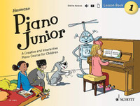 Piano Junior: Lesson Book 1 - A Creative and Interactive Piano Course for Children
