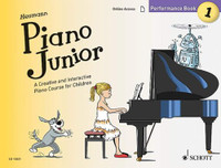 Piano Junior: Performance Book 1 - A Creative and Interactive Piano Course for Children