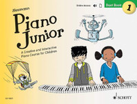 Piano Junior: Duet Book 1 - A Creative and Interactive Piano Course for Children