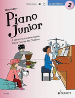 Piano Junior: Lesson Book 2 - A Creative and Interactive Piano Course for Children