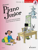 Piano Junior: Theory Book 2 - A Creative and Interactive Piano Course for Children