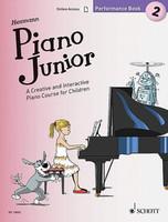 Piano Junior: Performance Book 2 - A Creative and Interactive Piano Course for Children