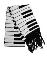 Music Keyboard Scarf