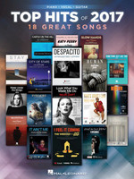 Top Hits of 2017 - Piano/Vocal/Guitar Songbook