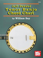 Left-Handed Tenor Banjo Chord Chart