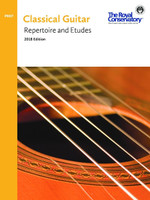 Preparatory Classical Guitar Repertoire and Etudes 2018 Edition