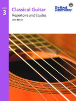 Classical Guitar Repertoire and Etudes Level 3 2018 Edition