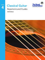 Classical Guitar Repertoire and Etudes Level 4 2018 Edition