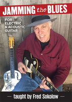 Jamming the Blues for Electric & Acoustic Guitar DVD