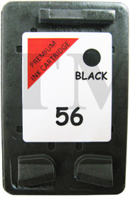 56 Black Remanufactured HP Ink Cartridge