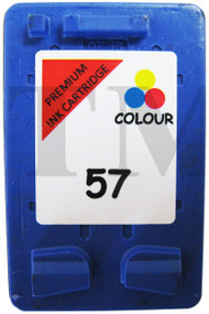 HP 57 Remanufactured Ink Cartridge - High Capacity Tri-Colour Ink Cartridge - Compatible For  (HP 57, HP57, C6657AE, C6657A, C6657AN)