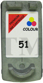 Canon CL-51  Remanufactured Ink Cartridge - High Capacity Tri-Colour Ink Cartridge - Compatible For ( CL-51, CL51, 0618B001)