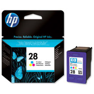 HP Original 28 8ml Colour Ink C8728AE