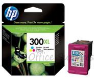 HP Original 300XL 11ml Colour Ink CC644EE