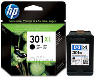 HP Original 301XL Black Ink Cartridge CH563EE