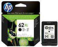 HP 62 XL Original Black Ink Cartridge (C2P05AE, C2P05A, HP 62XL, HP62XL)