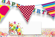 Free Birthday Decorations Print Template