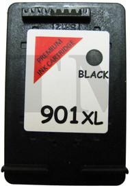 901 XL Black Remanufactured HP Ink Cartridge