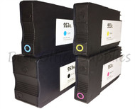 953XL  Black Cyan Magenta Yellow Compatible Ink Cartridge for HP Printers