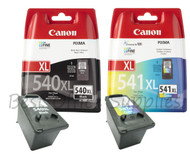 Canon Original PG-540 XL Black & CL-541 XL Colour Set Ink Cartridges (5222B005 / 5226B005)