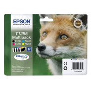 Epson T1285 Original Ink Cartridges Multipack - High Capacity 4 Colour - Black / Black / Cyan / Magenta / Yellow (C13T12854010, T1285, T1281, T1282, T1283, T1284, C13T12854012, T128540)