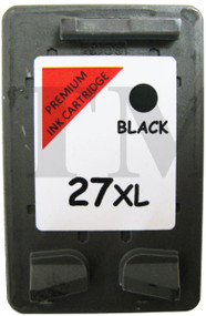 HP 27 XLRemanufactured Ink Cartridge - High Capacity Black Ink Cartridge- Compatible For (C8727AN, HP 27, C8727AE, HP27, C8727A)