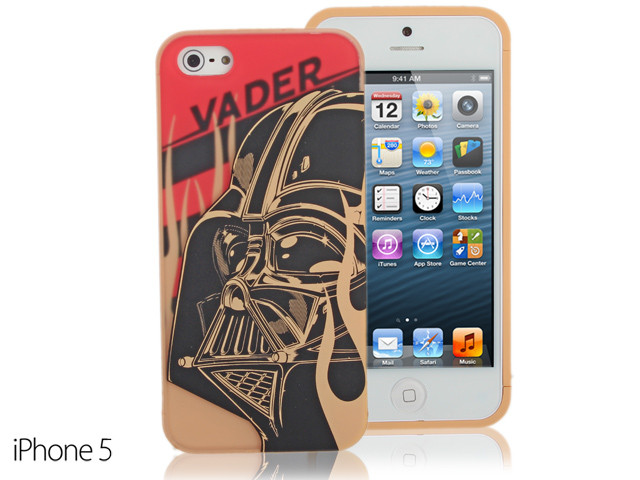 iPhone SE / 5 / 5S Comic Case Star Wars - Darth Vader Phone Case w/ Bonus Bumper (Limited Edition) (CMCA018100) by IQCUBES.COM