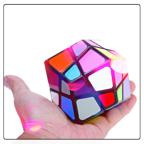 Irregular 12 Surfaces Rhombus IQ Dodecahedron (IQBG003200) by IQCUBES.COM