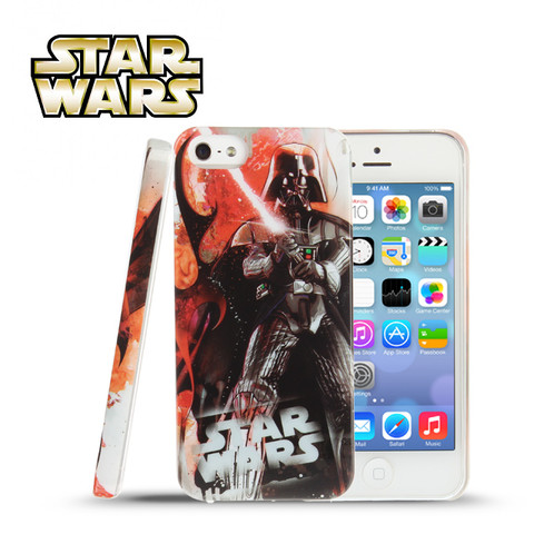 iPhone SE / 5S /  5 Star Wars - Darth Vader Fight Battle Back Case (Limited Edition) (CMCA041000) by IQCUBES.COM